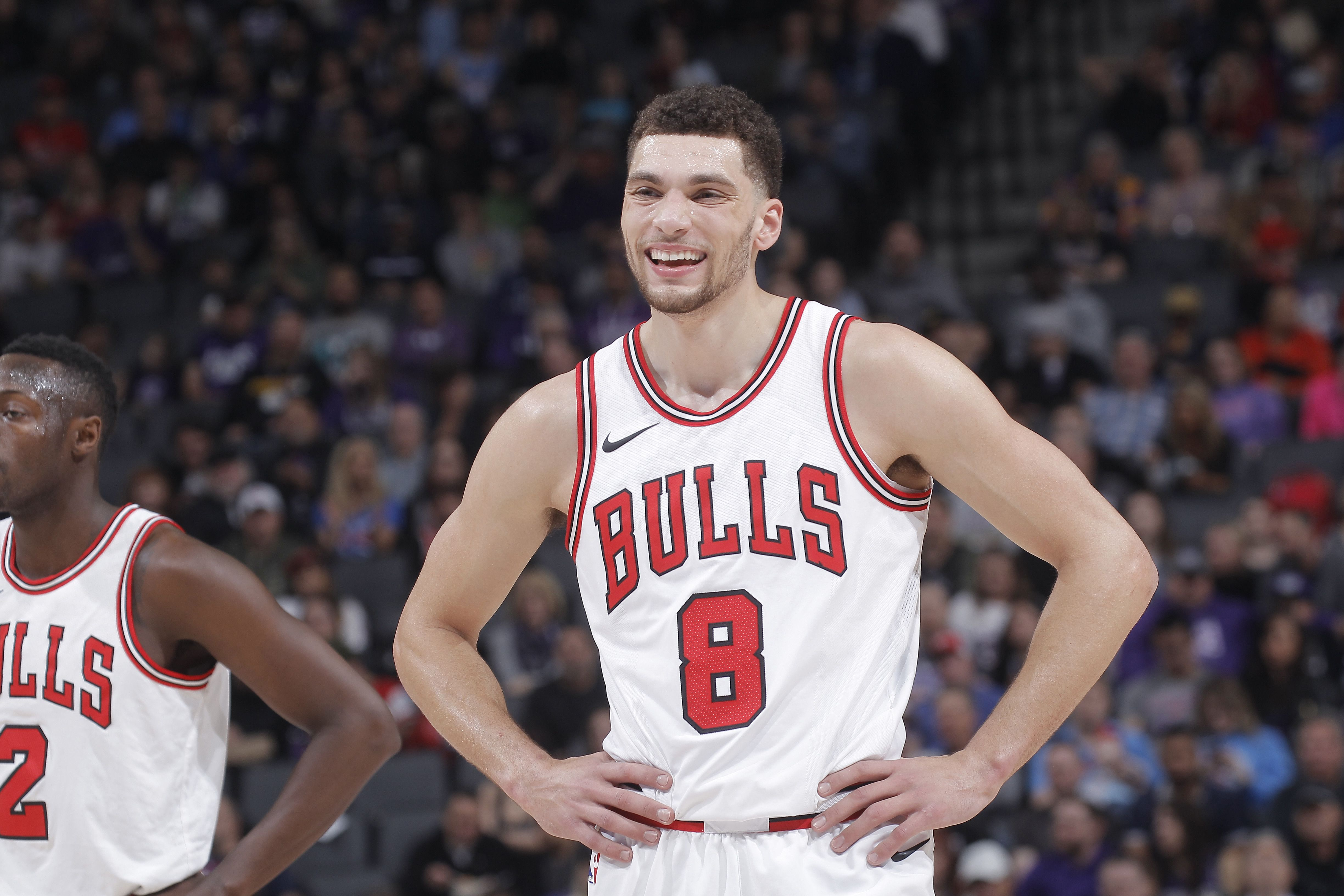 Restricted free agent Zach LaVine is on a mission this
